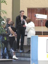 Nebelhorn Trophy 2009, Oberstdorf, Germany  24-27 Sept. Элисон Рид и Отар Джапаридзе СD