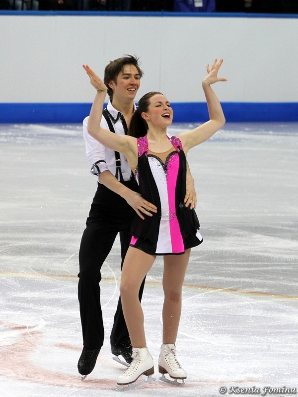 Olivia Smart-Joseph Buckland (GBR). ЧМЮ 2012. Минск. Произвольный танец: That Man by Caro Emerald, Ain't No Sunshine by Lighthouse Family, Pencil Full of Lead by Paolo Nutini