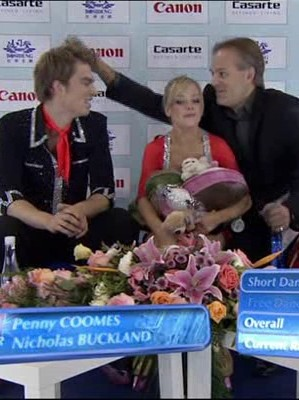 Penny Coomes, Евгений Платов, Nicholas Buckland, Cup of China 2011 Shanghai