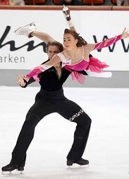 Nebelhorn Trophy 2009, Oberstdorf, Germany  24-27 Sept. Элисон Рид и Отар Джапаридзе FD