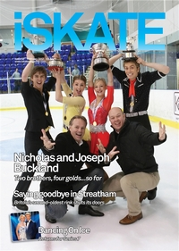 Nicholas Buckland, Penny Coomes, Olivia Smart, Joseph Buckland,  Евгений Платов, Philip Askew  на национальном чемпионате Великобритании, декабрь 2011 г.
