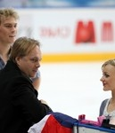 Rostelecom, Cup of Russia. Москва, 9-11.11.2012  Е. Платов, Penny Coomes  и Nicholas Buckland